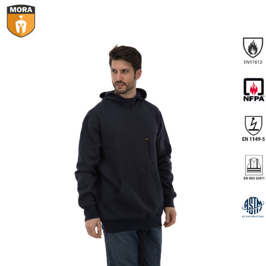 Safety Work Wear Fr Clothing Hoodie Cotton with Antistatic pictures & photos