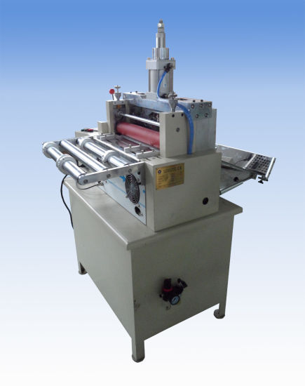 China Hook and Loops Hot Cutting Machine Without Burrs Full Cut