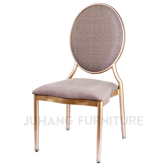 Stacking Metal Round Back Luxury Hotel Banquet Chair (HM-M070)