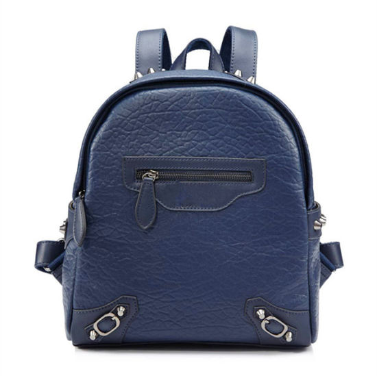 ae9440af97d Guangzhou Factory Leading Manufacturer Washed Fashion Female PU Leather  Women Designer Ladies Backpack