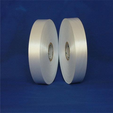 Single Side Slitting Edge Polyester Satin Ribbon for Main Label