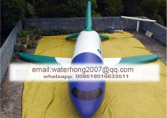 Parade Event Decoration Inflatable Airplane for Advertising