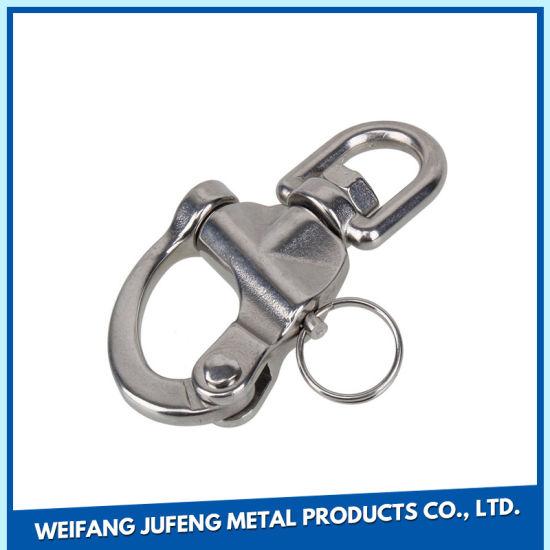 Custom Machining Tools Precision Metal Stamping Binder Clip of Stainless Steel