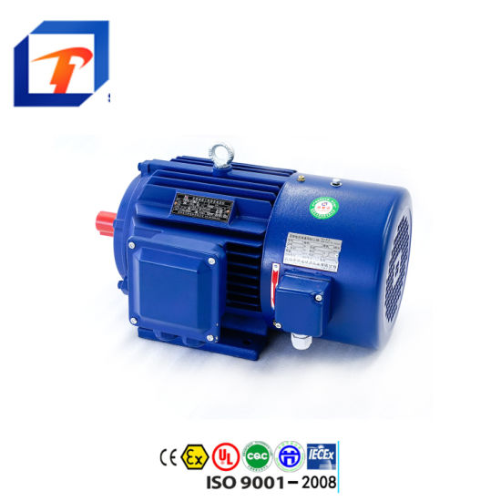 Ms Series Ms132m-4 Ie2 Aluminium Housing Three Phase Induction Electric AC Motor 7.5kw/10HP