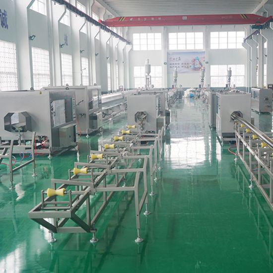 16-63mm PP PE PE-Rt PPR High Speed High Efficiency Extrusion Solution pictures & photos