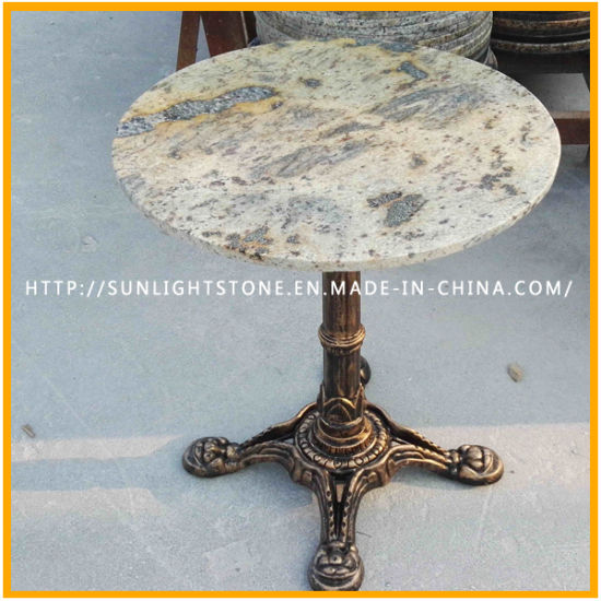 Cheap Blue Pearl Granite Stone Marble Dining Room Furniture Coffee Table pictures & photos