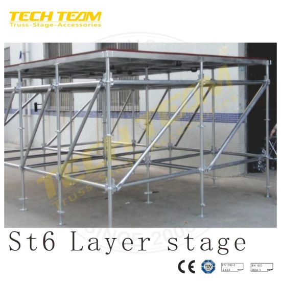 Tubing Clamp Prop Frame Cuplock Scaffold Kwikstage Layher Allround Ringlock Scaffolding
