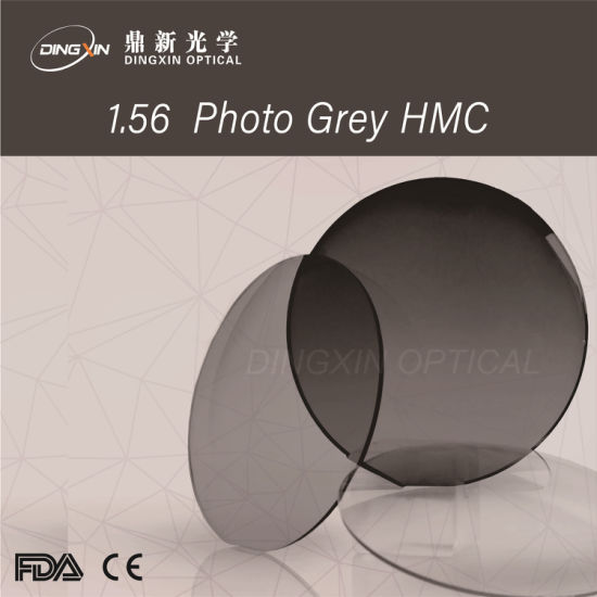 Finished / 1.56 Photogrey Hmc / Single Vision / Optical Lens pictures & photos