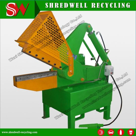 Shredwell Hydraulic Metal Alligator Shear for Scrap Steel/Aluminum/Iron/Copper pictures & photos
