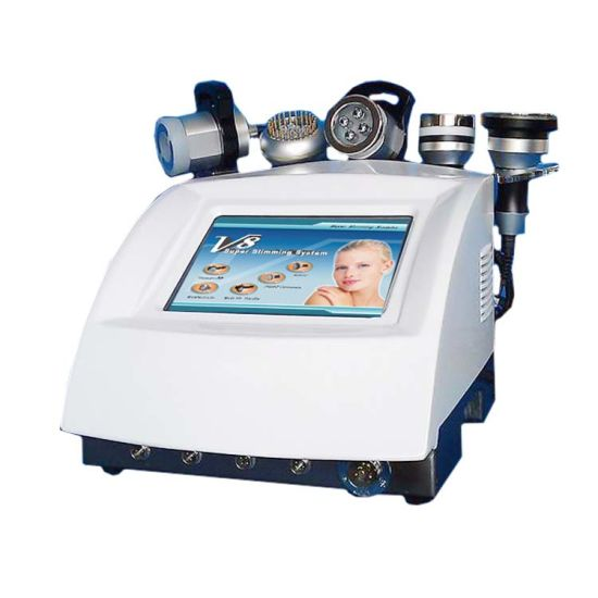 RF Vacuum Ultrasonic Cavitation Bio LED Body Slimming Machine pictures & photos
