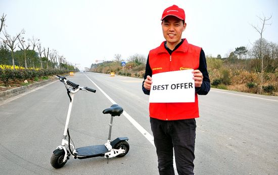 24V 300W Easy Foldable Electric Scooter with Best Prices pictures & photos