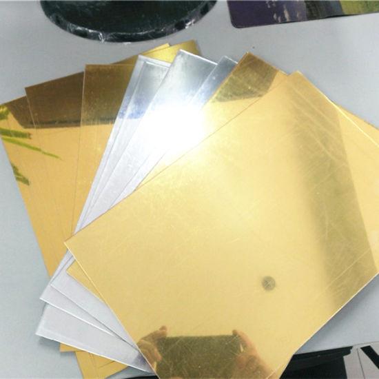 China Silver And Gold Pmma Acrylic Mirror Sheet China Acrylic Mirror Sheet Acrylic Mirror