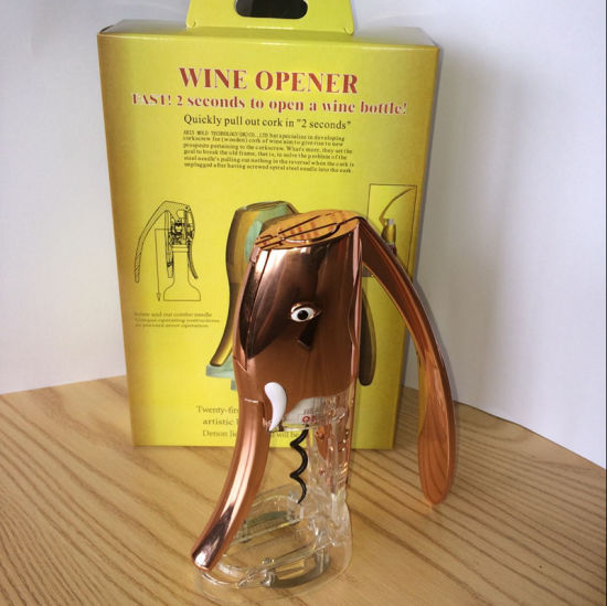 High Quality Custom Red Wine Corkscrew Bottle Opener pictures & photos