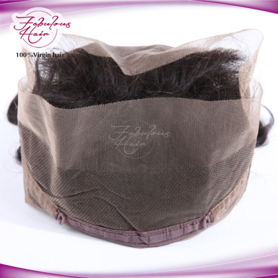 9A Grade Brazilian Virgin Human Hair Full 360 Lace Frontal pictures & photos