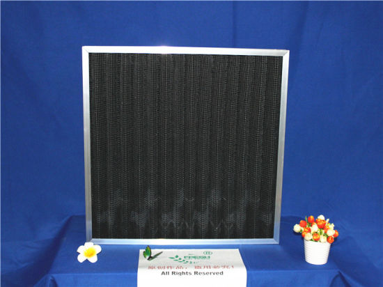 Fresh Aluminum Frame Carbon Air Filter Industrial pictures & photos