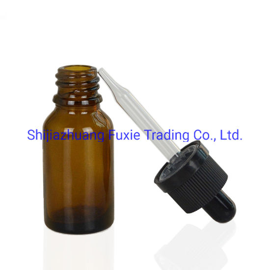 10ml Amber Glass Bottle with Glass Dropper pictures & photos