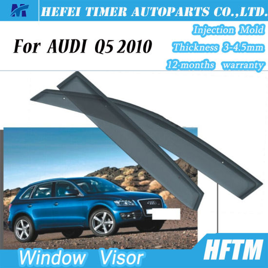 China Car Parts 100 Matched Window Visors Door Visor For Audi Q5