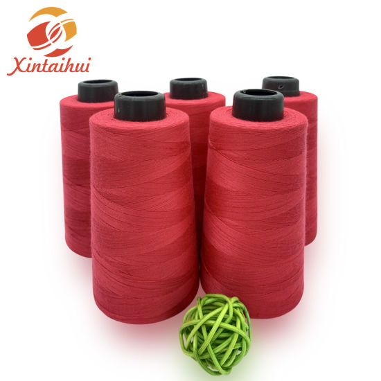 Factory Sale 100% Spun Polyester Sewing Thread 60/3 5000y for Garment Accessories Best Quality