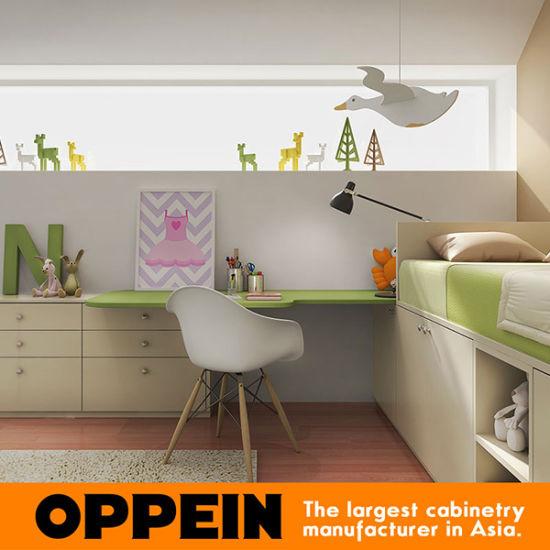 Oppein Eco Friendly Customized Children Furniture Kids Bedroom Furniture Set Op16 Kid01