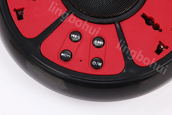 Multifunction Stereo Wireless Bluetooth Mini Speaker with Electrical Socket pictures & photos