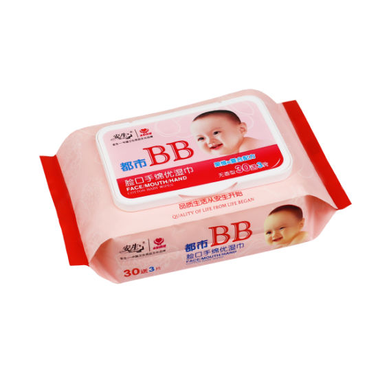 China Skin Care Soft Baby Wet Wipes pictures & photos