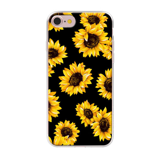 Summer Daisy Sunflower Floral Flower Soft Clear Phone Case pictures & photos