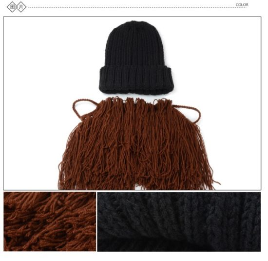 New Custom Unisex Hardmade Knitted Crochet Beard Hat/Cap pictures & photos