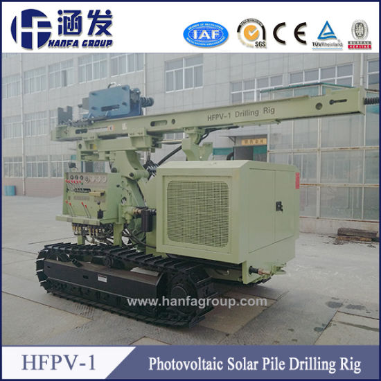 Hfpv-1 Mobile Hydraulic Machine Solar Pile Driving pictures & photos