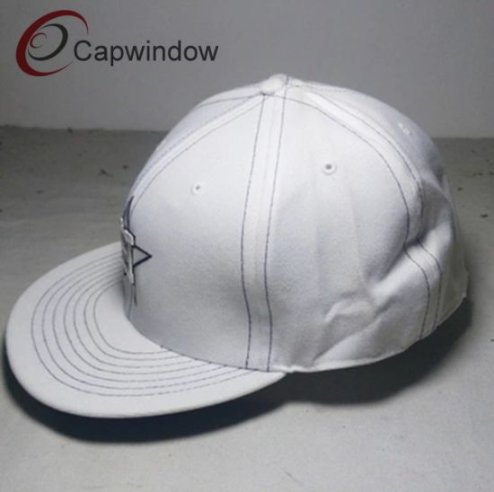 White Fashion Snap Back Hat pictures & photos