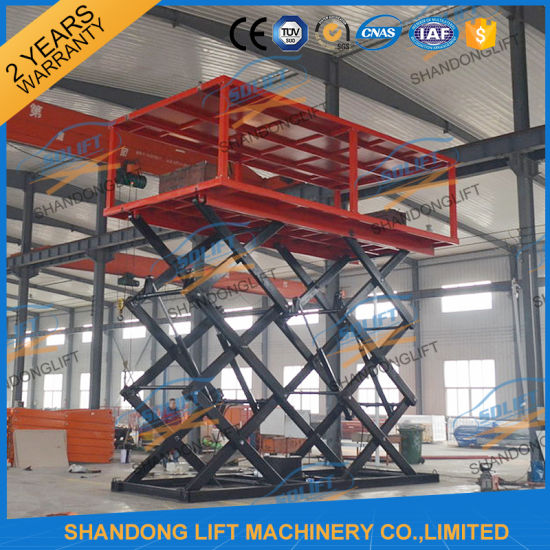 Hydraulic Automatic Car Parking System Car Lifter Garage Equipment Explosion Proof