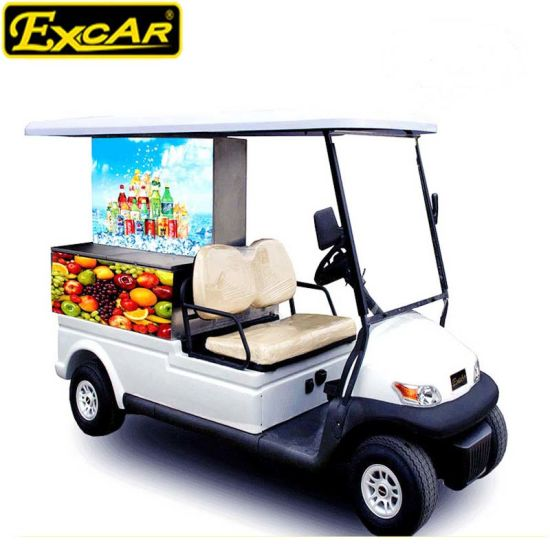 Popular Electric Golf Cart Food Cart Wholesale