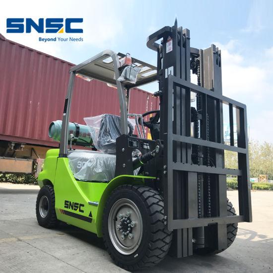 Snsc 3ton LPG Forklift to Kuwait