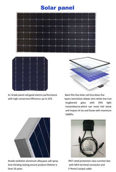 China High Quality Home Solar Power System 10kw Complete Set Solar Panel System With Cheap Price China Solar System Solar Panel