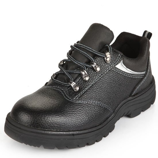 Steel Toe Cap Men Leather Safety Shoes