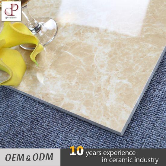 China Polished Glazed Vitrified Tiles Light Emperador Ceramic Tiles ...