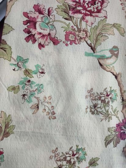 New Design Dispersed Printed and Bubble Polyester Fabric for Bedding Sheet Quilt Cover