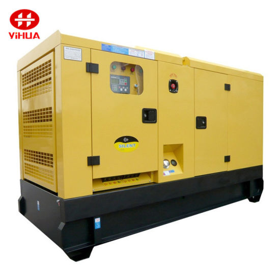 China OEM Diesel Generator Supplier 40kw/50kVA UK Engine Water-Cooled Diesel Generator Sets
