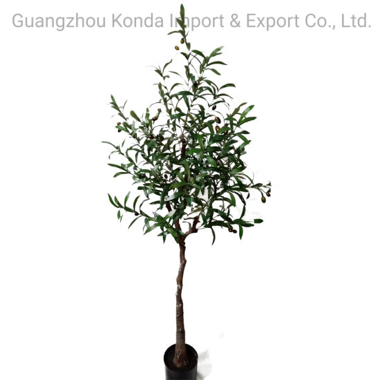 Decorative Indoor Artificial Olive Home Plants and Trees