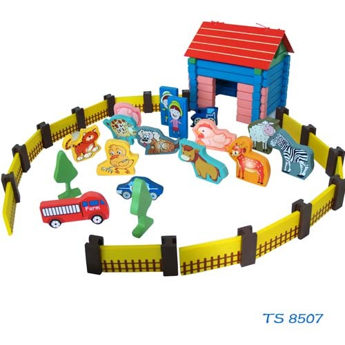 Child Roll Play Wooden Farm pictures & photos