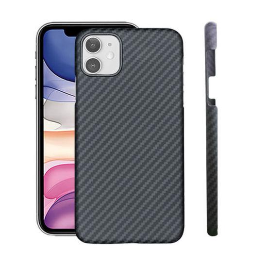 Custom Logo Light Weight Aramid Fiber Phone Case Anti Scratch iPhone Case Mobile Case