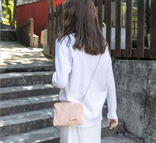in Stock New Winter Fashion Ladies Handbag, Ladies Messenger Sling Bag, Women Chain Handbag