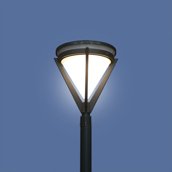 12W High Quality LED Solar Garden Light with Lithium Battery