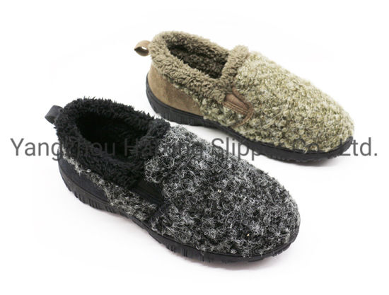 Circle Fleece Casual Shoes for Man Winter Outdoor Warm Shoes Suede Fabric Winter Shoes