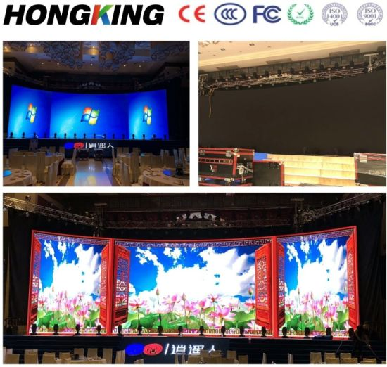 Indoor LED Stage Rental Background LED Video Wall P2.6/P2.97/P3.9 Pixel