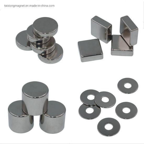 China Supplier Ni Coating Tiny Neodymium Magnet Permanent