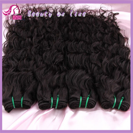 2018 Hot Sale, Natural Wave Indian Hair, 100% Human Hair Extension, Very Soft
