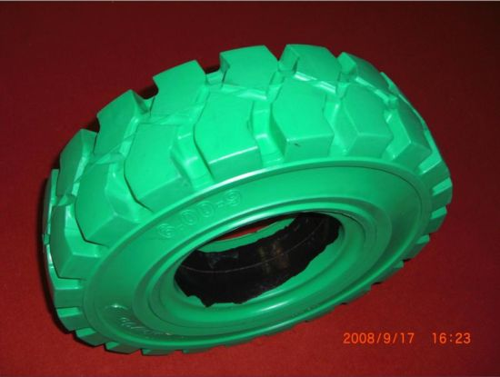 Non Marking Solid Tire 7.50-15, Pneumatic Solid Tyre pictures & photos