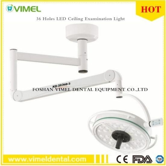 Dental LED Surgical Medical Exam Light 36 Holes Ceiling Examination Light pictures & photos