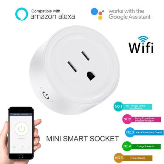 China Timethinker Smart Home Automation WiFi Socket 10A