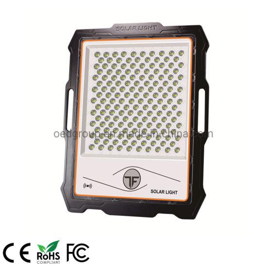 400W Portable Solar Powered IP67 LED Outdoor Work Light LED Flood Light with Radar Sensor